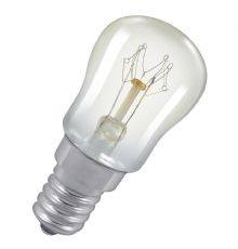 Standard incandescent including pygmy, fridge, oven and cooker hood bulbs